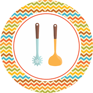 Cookin Party Kit Toppers or Free Printable Candy Bar Labels.