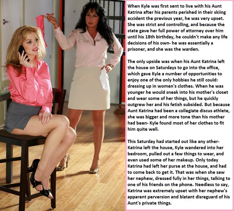 Hypnosis Sissy Forced Feminization Cap-4675