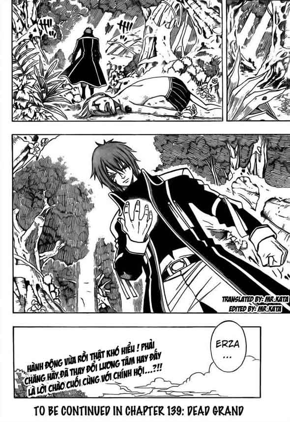 Fairy Tail chap 138 trang 22