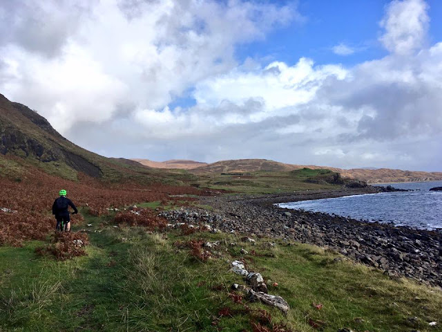 FitBits | Mountain biking on Skye, Scotland - Boreraig -  fitness blogger Tess Agnew