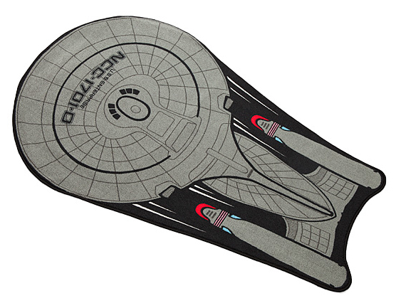 "POCKET MIRROR USS ENTERPRISE RECTANGULAR 3/"" X 2/"" NEW STAR TREK  CREW"