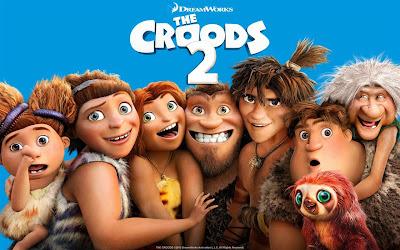 Familia preistorica Croods se întorc la situațiile comice lor vechi într-o lume nouă periculoasă, ciudat.