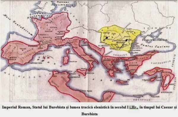 Imperiul roman - statul lui Burebista