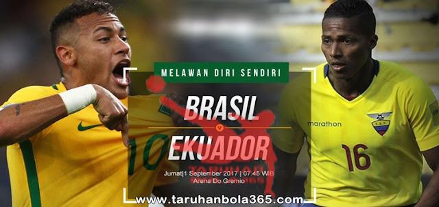 Prediksi Taruhan Bola 365 - Brasil vs Ekuador 1 September 2017