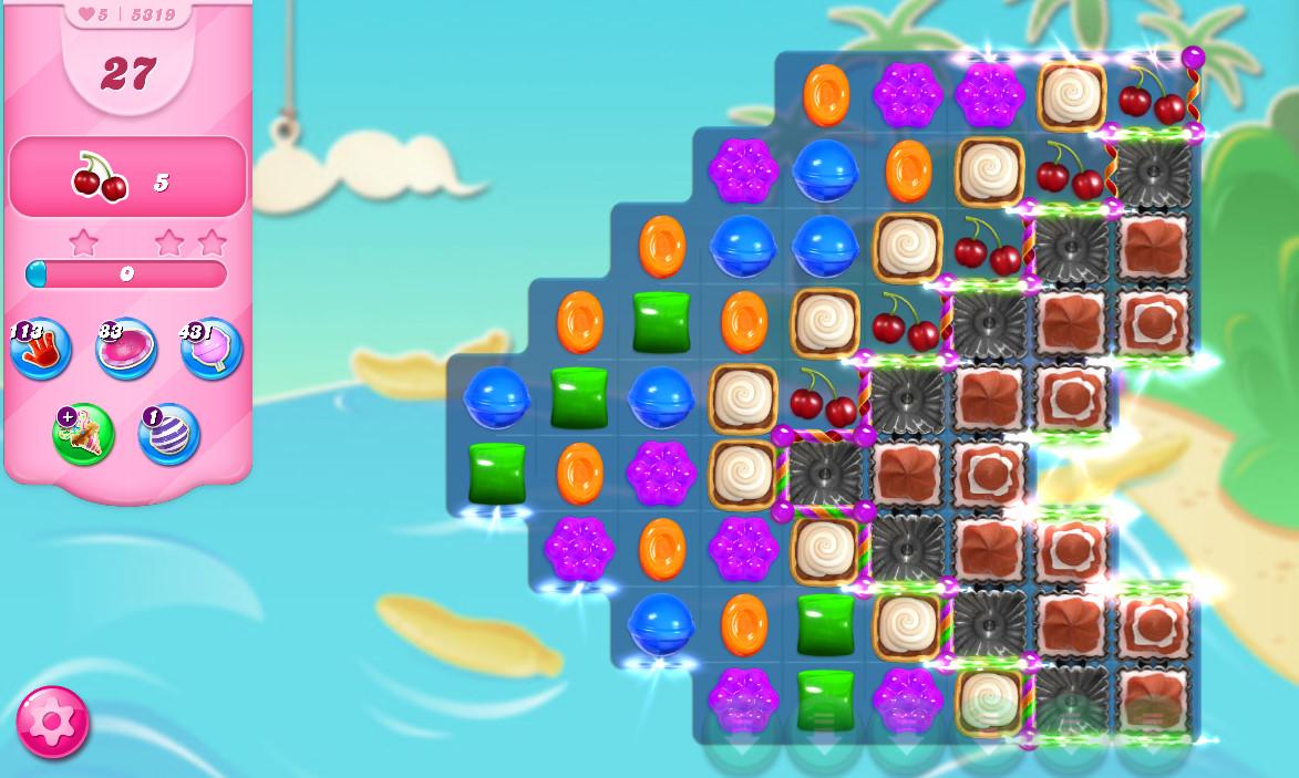 Candy Crush Saga level 5319