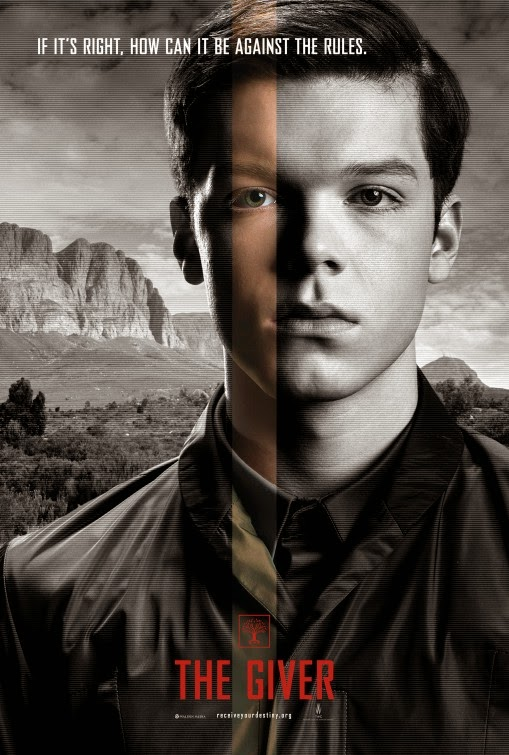 the giver affiches des personnages