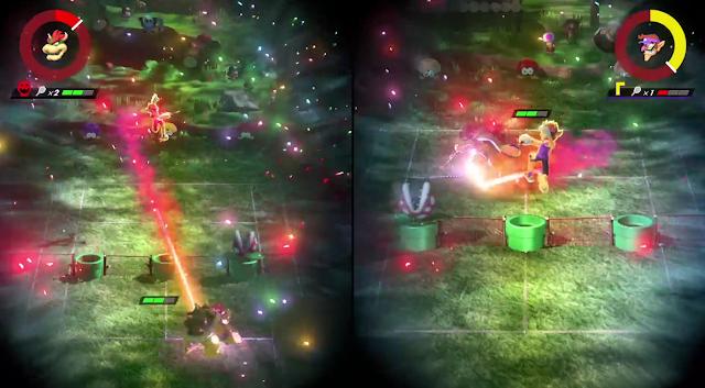 Mario Tennis Aces Bowser Waluigi Nairo ZeRo Nintendo Treehouse Live