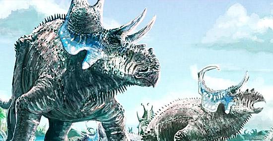 Novo dinossauro 'Super - Triceratopes' com quatro chifres é descoberto