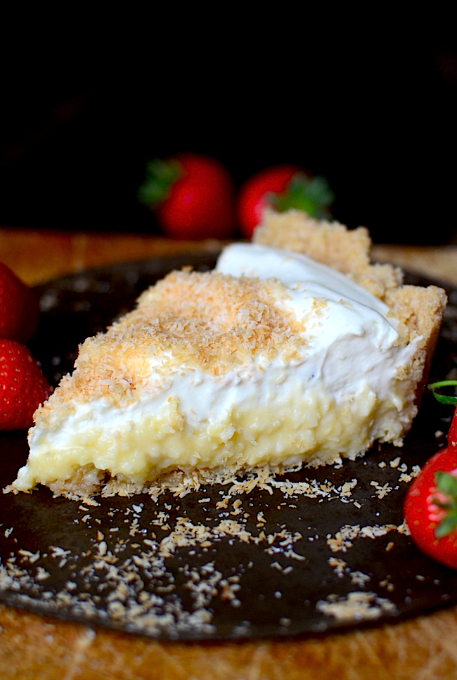 Yammie S Noshery Coconut Cream Pie From Scratch With