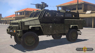 arma3 FFAAスペイン軍MOD RG-31