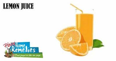 Home Remedies For Brown Spot On Skin: Lemon