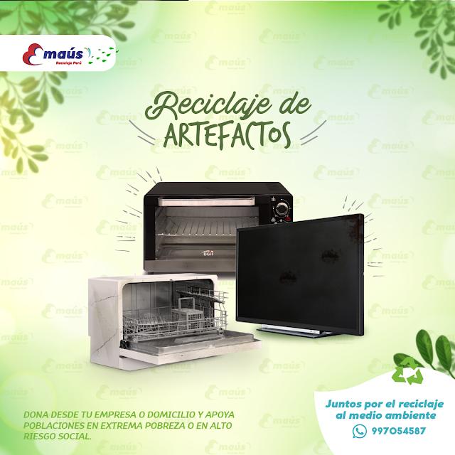 Reciclaje de Artefactos - Emaús Reciclaje Perú