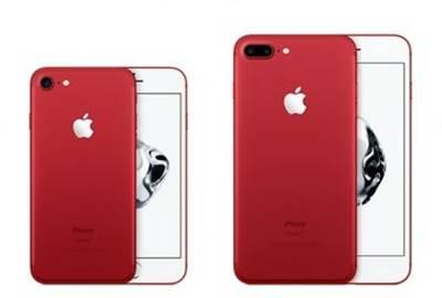Os iPhone 7 e iPhone 7 Plus na cor vermelha começaram a ser vendidos no Brasil