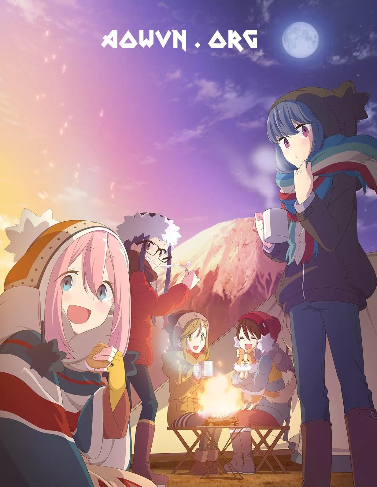 AowVN.org min%2B%25282%2529 - [ Anime 3gp Mp4 ] Yuru Camp △ | Vietsub - Art Đẹp