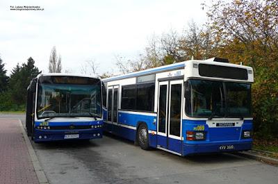 Scania CN113CLL, Autosan M09LE, MPK Kraków