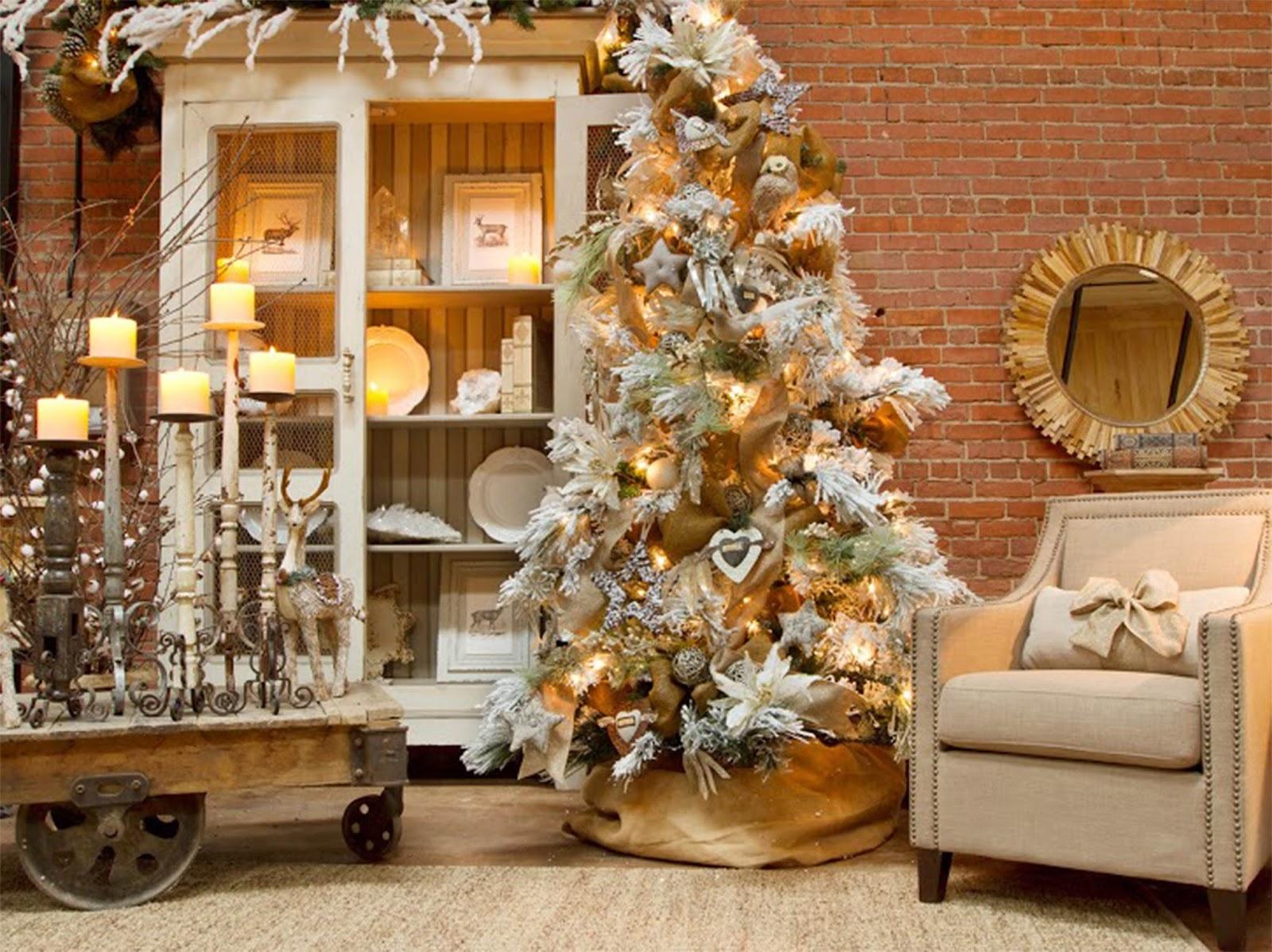 christmas interior design and decorating ideas brown interiors