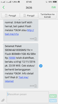Paket Internet Murah Kartu As 2016