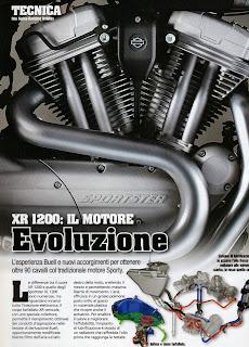 xr 1200 motore