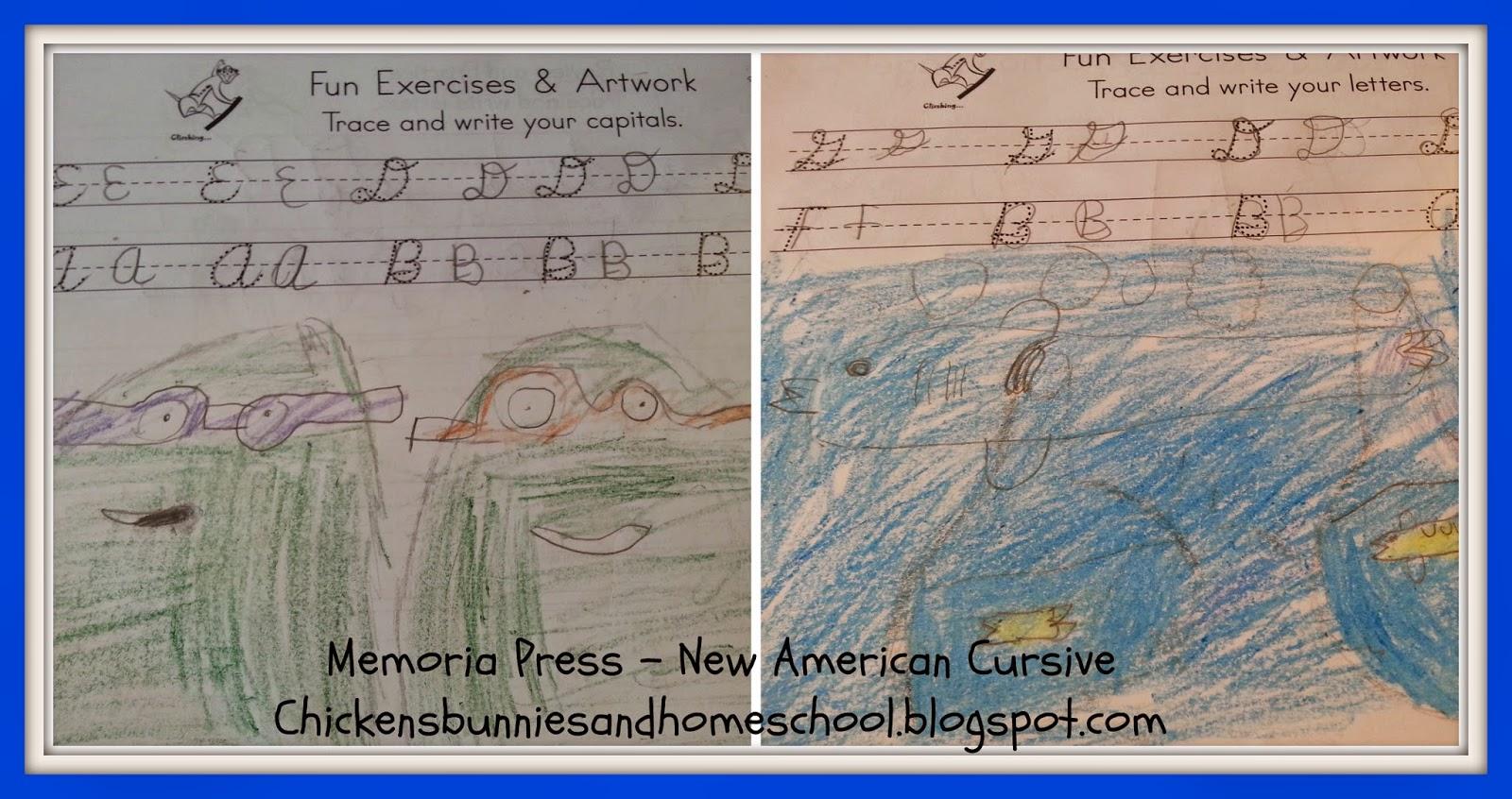 Chickensbunniesandhomeschool Memoria Press New American