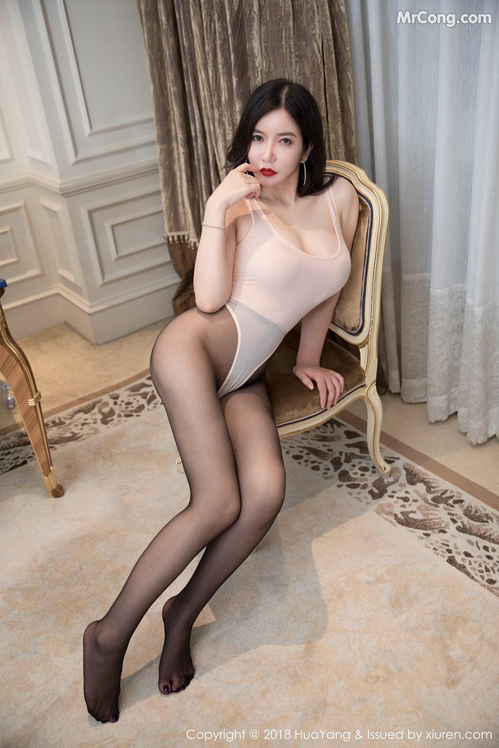 Image HuaYang-2018-08-10-Vol.069-MrCong.com-002 in post HuaYang 2018-08-10 Vol.069: Người mẫu 心妍小公主 (44 ảnh)