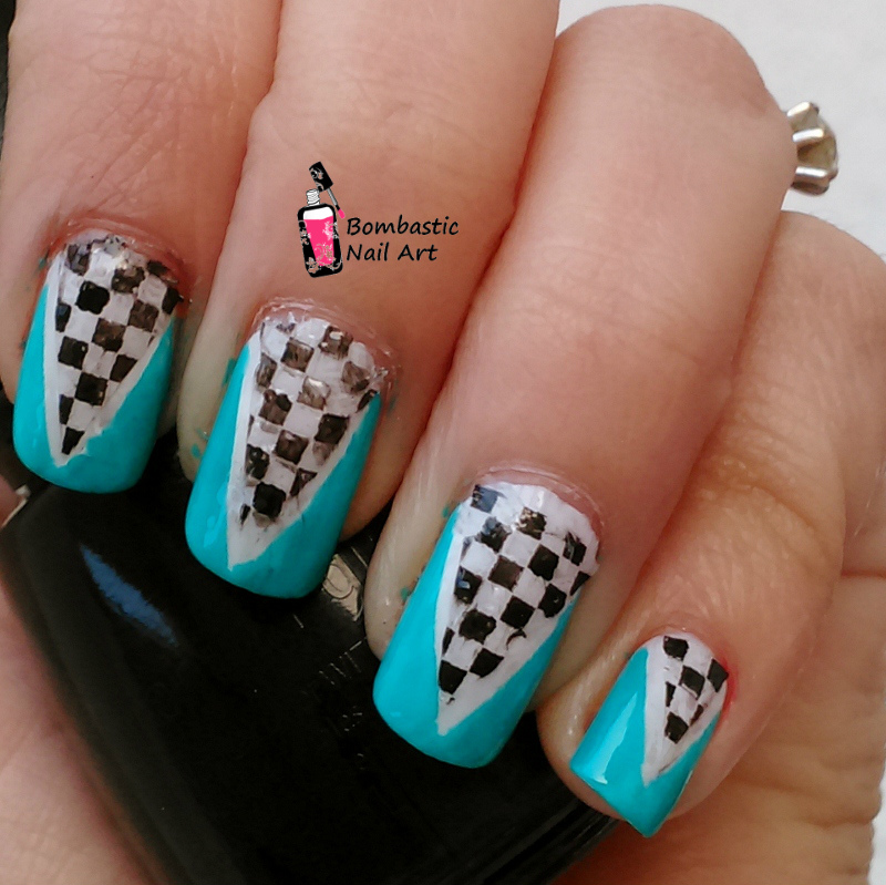 Cool Nail Art with Reverse Stamping – Bombastic Nail Art
