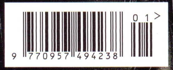 From My Scan Of The Batman Cover I Copied Barcode Into A New Photoshop Document