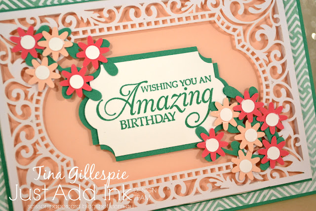 scissorspapercard, Stampin' Up!, Just Add Ink, Beautifully Detailed SDSP, Painted Seasons DSP, Humming Along, Dragonfly Dreams, Everyday Label Punch, Sprig Punch, Bitty Blooms Punches