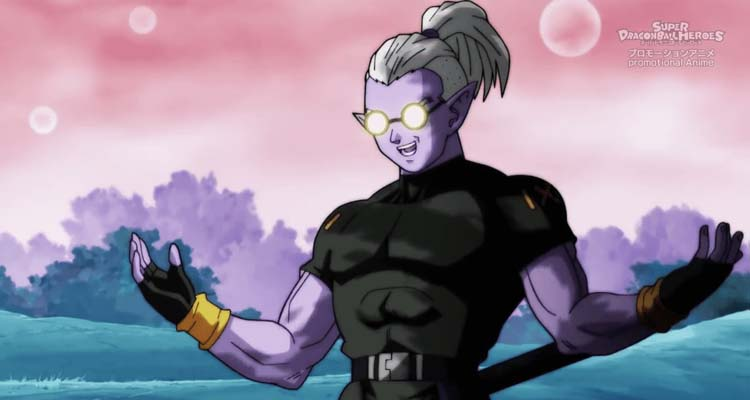 Fu, el villano de Super Dragon Ball Heroes 1x01