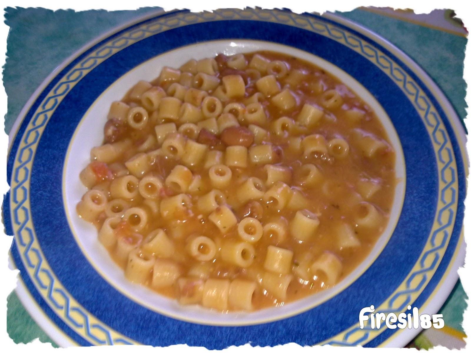 Golosona Pasta E Fagioli Con Il Bimby