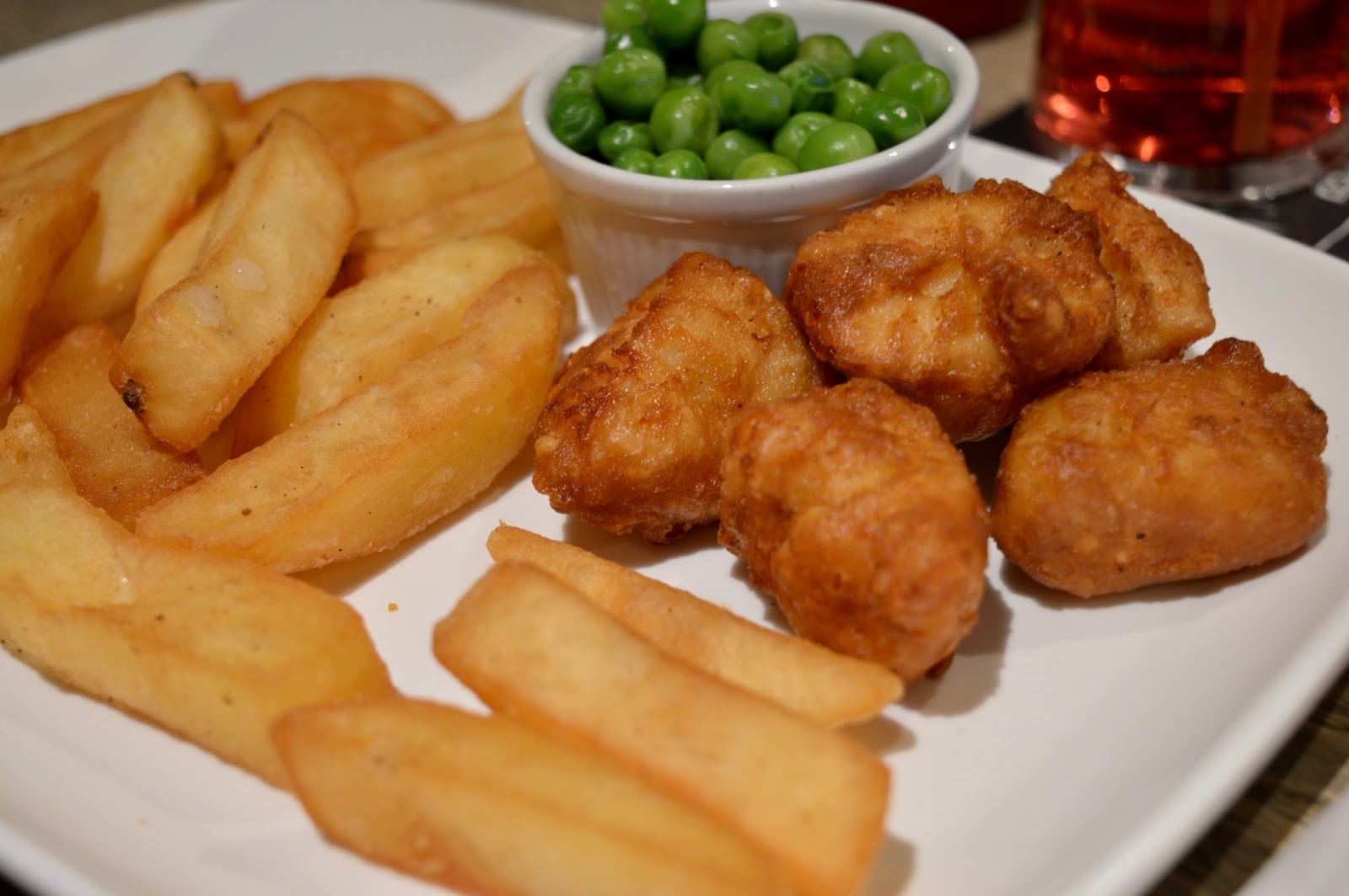 The Craster Arms, Beadnell   A Review featuring a very good Northumberland Country Pub.  - homemade chicken nuggets and chips