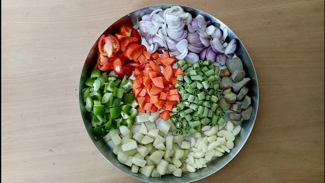 veg biryani recipe