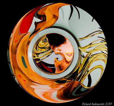 Irish abstract artist, andreucetti