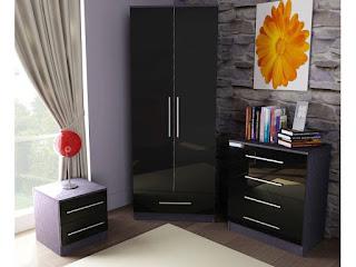 black bedroom sets king