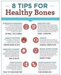 8 Tips for Healthy Bones Free Health Tips