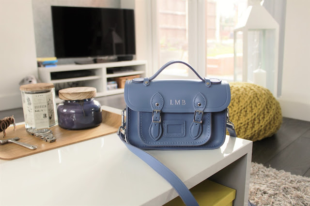 the cambridge satchel company mini satchel dusk blue