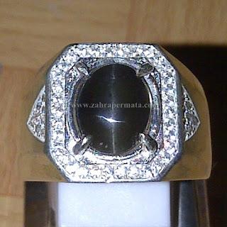Cincin Batu Silimanite Cat Eye - ZP 761