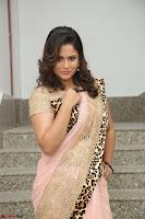 Shilpa Chakravarthy in Lovely Designer Pink Saree with Cat Print Pallu 032.JPG
