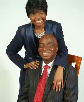 Pastor Faith Oyedepo  and , Bishop DAVID Oyedepo