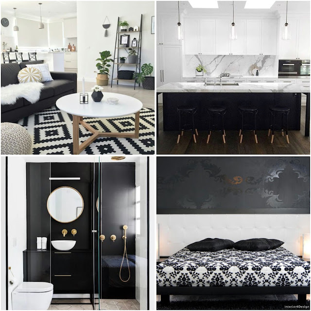 Black And White Interior Design Ideas For A Sweet Home
