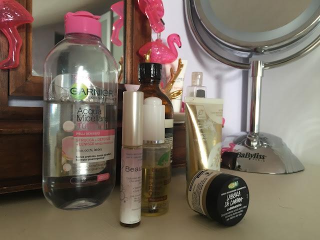 Night Skincare Routine, summer edition.