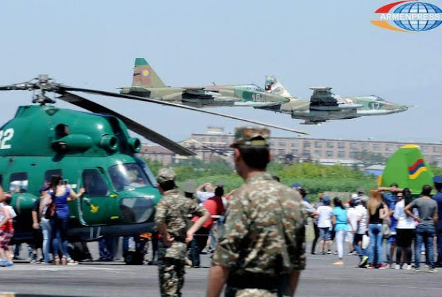 Tener aviación militar multifuncional es prioridad para Armenia