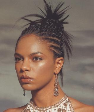Peinados A La Moda Peinados Afro Para Mujer