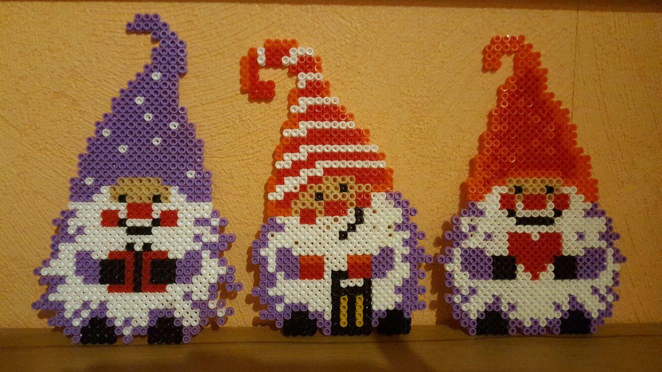 Bugelperlen Vorlage Weihnachtswichtel Kiki Die Kinderkiste