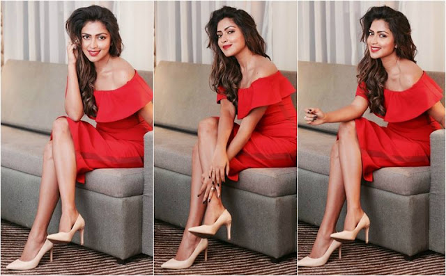 Amala Paul At the launch of Kerala Fashion League season 4