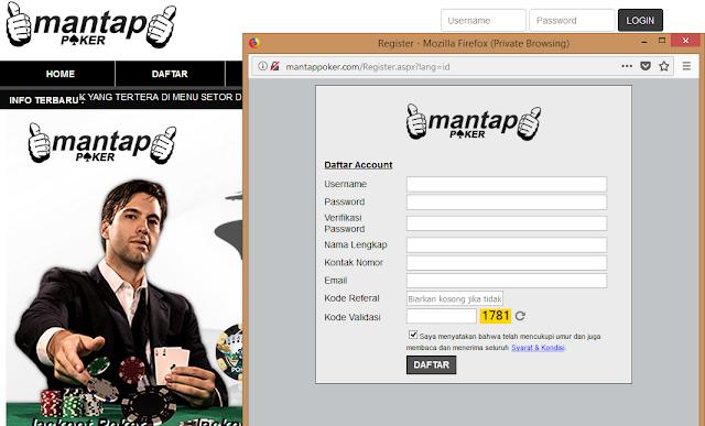 Mantappoker Situs Poker Online Terpercaya Di Indonesia