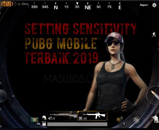 cara aetting sensitivitas pubg mobile android