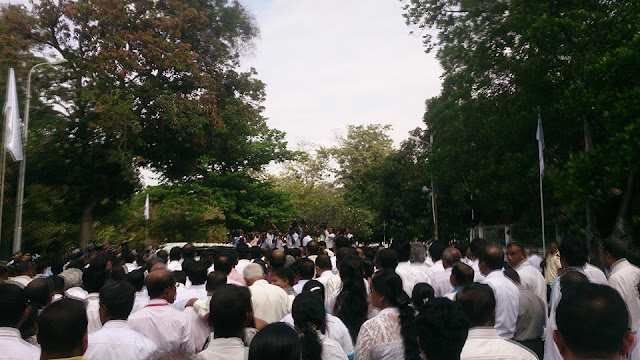 Pandith Amaradeva's funeral