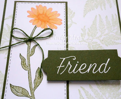 Heart's Delight Cards, Daisy Lane, 2019 AC Sneak Peek, Friend, Stampin' Up!