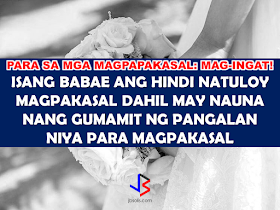 A lady who is about to exchange  marriage vows with her long time partner did not make it to the altar after she found out that her name was already used by another person to marry a certain Japanese national whom she was never aware of. The odd thing is, technically, she is already married but actually she's not.      In the Sumbungan ng Bayan segment of 24 Oras GMA News hosted by Mike Enriquez, a case of a woman who was about to get married with her partner failed to do it because as she was handed  her CENOMAR (Certificate of No Marriage), she found out that she was already married to a certain Japanese named Yuki Takahashi since 1998.   Julita Cortez said that she never knew or met the Japanese and that she was never married before. Together with sumbungan ng Bayan, they went to the place where the wedding was allegedly took place but the residents deny that the said address exists. They went to the civil registry office of Caloocan but the City Civil Registrar said that they don't have the ability to verify the identity of the people who are getting married as they assume that the people who are applying for  marriage license are the same person they tell they are as the presumption of regularity applies.   They advised Julita to get a lawyer so that the marriage entry at the Civil Registry will be corrected. She went to the Public a Attorney's Office (PAO) and submitted her supporting documents to prove her identity. Surprisingly, even the name of Julita's parents are written in the fake marriage contract but their addresses are wrong. PAO Lawyer Atty. Carmela Ablaza also found out that Julita's signature was also forged as they do not resemble her signatures with her submitted proof of identity. As advised by the lawyer, Julita should file a petition of correction of entry at the RTC near to the Civil Registry  where the alleged marriage was entered. PAO issued an endorsement to their satellite office to help speed up the process for Julita.  RECOMMENDED: ON 