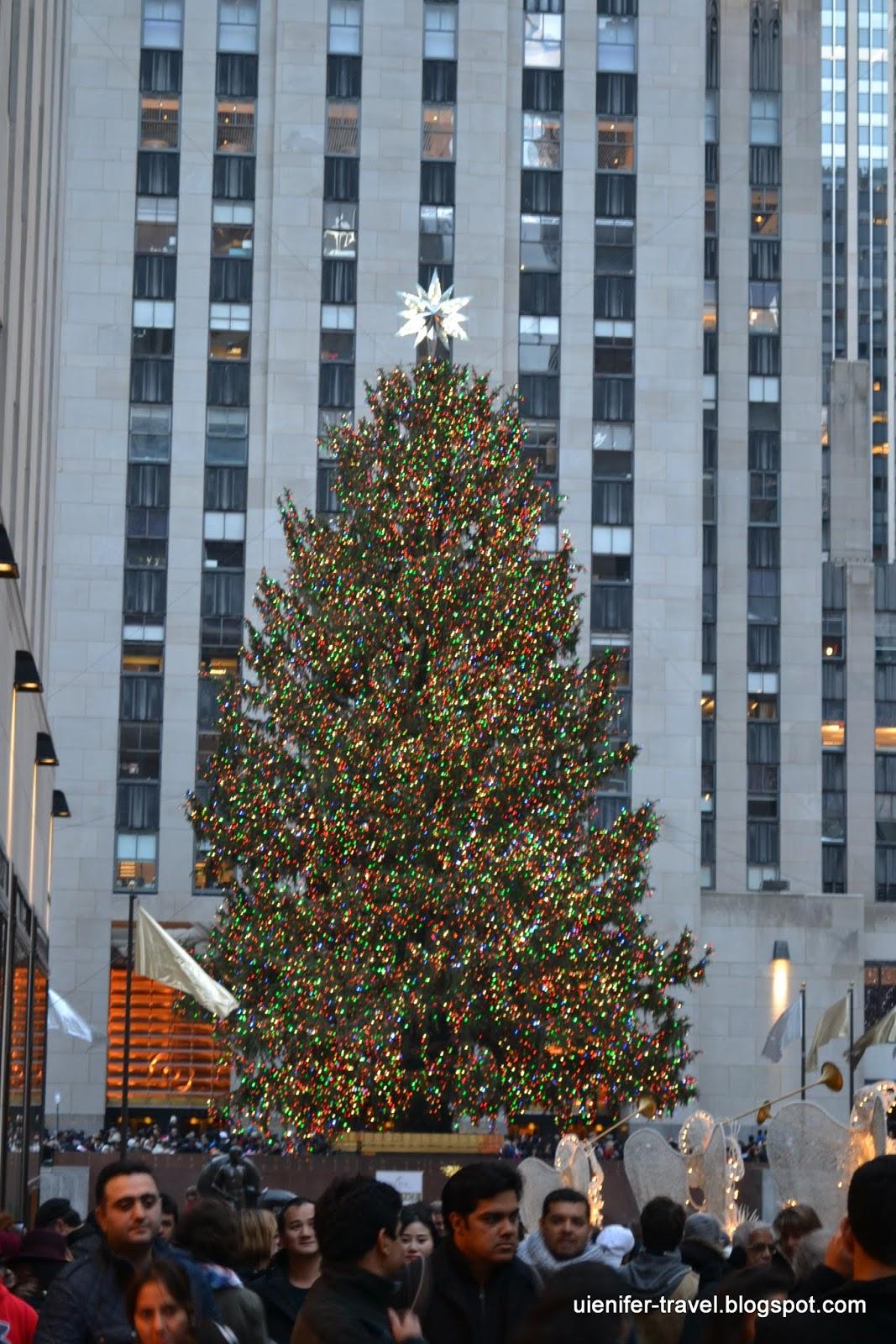 Рождественский Нью-Йорк 2014 - Рокфеллеровский центр